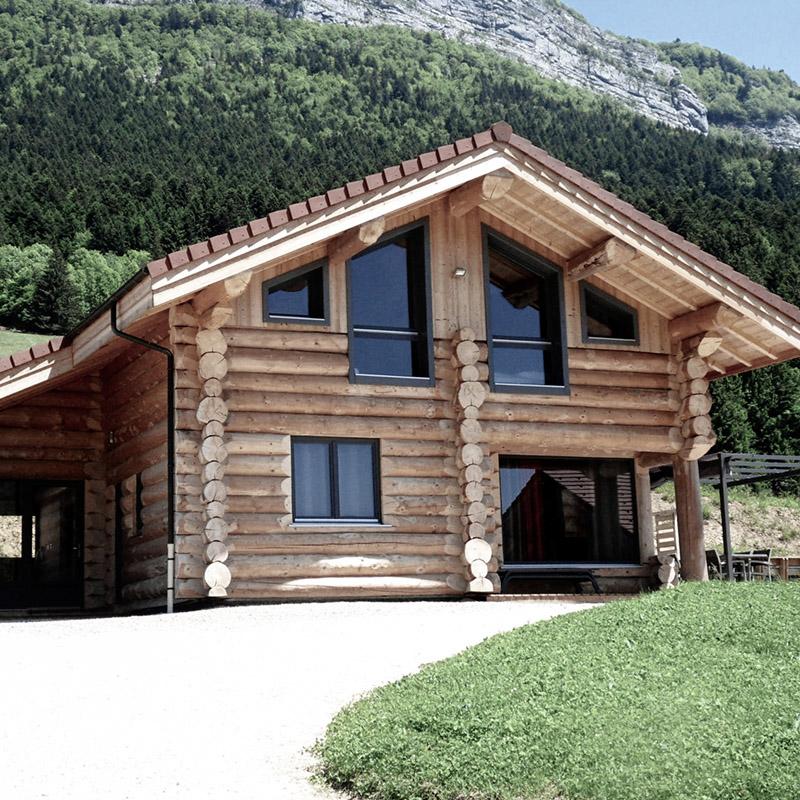 Fustes - Maisons en rondins - construction française